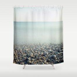 Ice Age. Analog. Film photography Shower Curtain