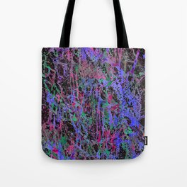 colourful splatters  Tote Bag
