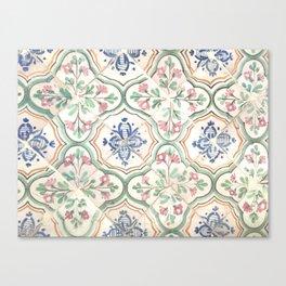 Tiles of Tunisia Canvas Print