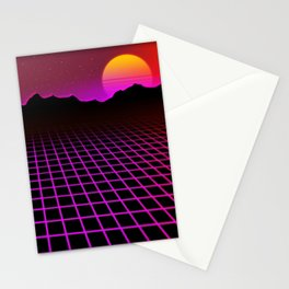 80s Vibes Stationery Cards