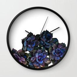 Succulents IIII Wall Clock