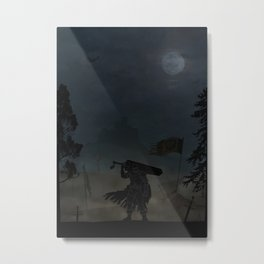 Berserk | Warriors Landscapes Serries Metal Print