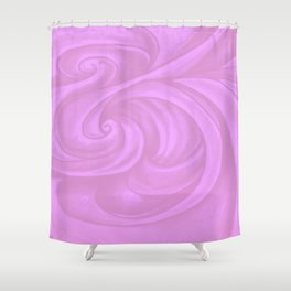 neon pink II Shower Curtain