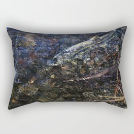 That last stretch of life Rectangular Pillow