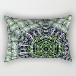 Watery Orbitals Mandala 3 Rectangular Pillow