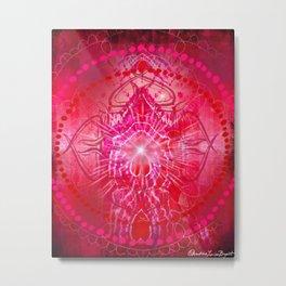 Muladhara - Chakra 1 Metal Print