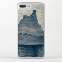 Frank Hurley photo of Antarctica, 1913 Clear iPhone Case