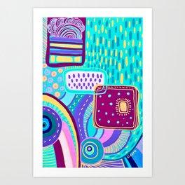 Pop Abstract Art Print