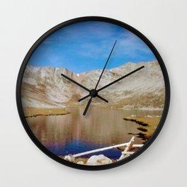 Mount Evans Wall Clock