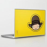indiana jones Laptop & iPad Skins featuring Indiana Jones Kawaii by Aimee Liwag
