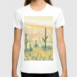 Desert Sunset Landscape T-shirt