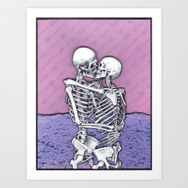 At The End Of All Things Art Print