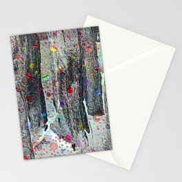 Not Just Another Face In The Crowd Painting Stationery Cards