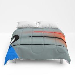 Soft meets hard ... Comforters
