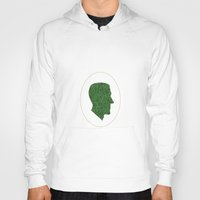 lovecraft Hoodies featuring Lovecraft Silhouette by RAdesigns