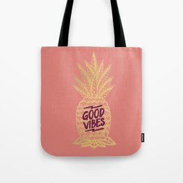 Good Vibes - Pink Tote Bag