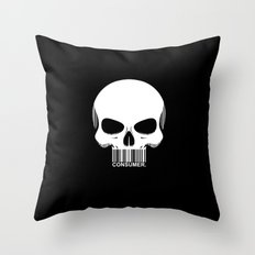 CONSUMER. Throw Pillow