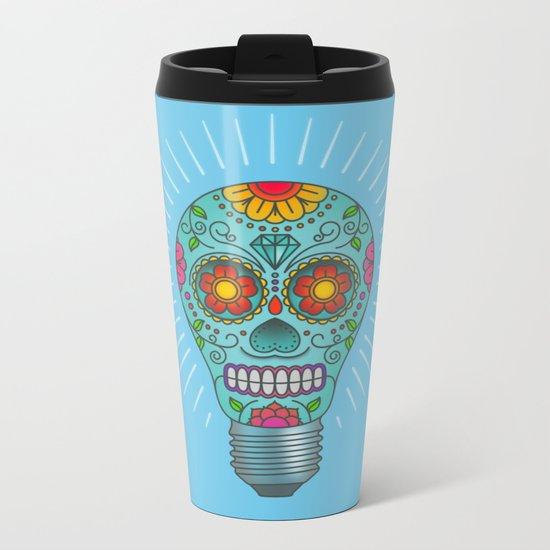 Light Headed Metal Travel Mug