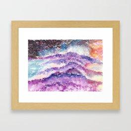 Abstract Whimsical Art Illustration. Framed Art Print