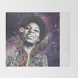 Nina Simone Throw Blanket