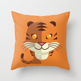The Forest King Throw Pillow