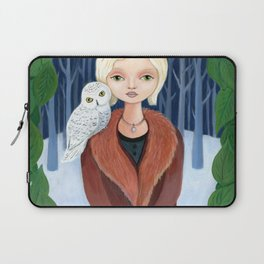 Blue forest. Laptop Sleeve