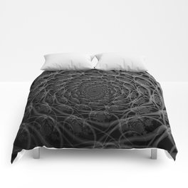 Galaxy of Filaments in Black and White Comforters