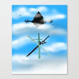 Sword Art Online-Aincrad Canvas Print