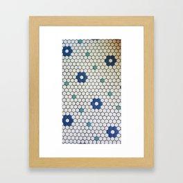 Historic Hexagons Framed Art Print