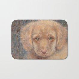 Retriever puppy Bath Mat