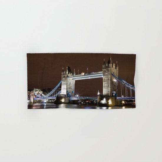 Tower Bridge London Hand & Bath Towel