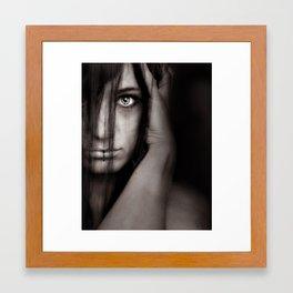 Don't follow me Framed Art Print