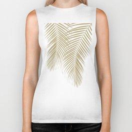 Summer Palm Leaves #1 #tropical #decor #art #society6 Biker Tank