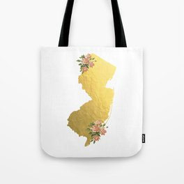 Baesic Gold Foil New Jersey Tote Bag
