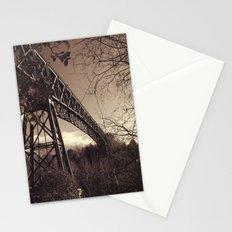 The mistery bridge. Retro Stationery Cards