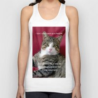 meme Tank Tops featuring TJ Meme by Frankie Cat