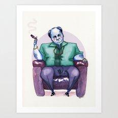 Tony Soprano - James Gandolfini Art Print