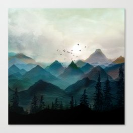 Mountain Sunrise II Canvas Print