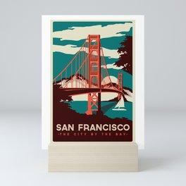 The City By The Bay - San Fran Mini Art Print