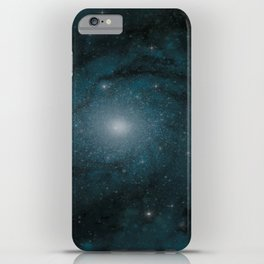 Spiral Galaxy iPhone Case