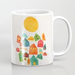 Looking at the same sun Coffee Mug
