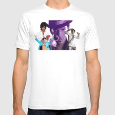 The Artist  White MEDIUM Mens Fitted Tee