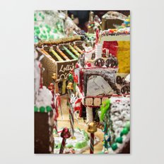 Candied Land Canvas Print