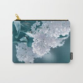 Lilacs blue 092 Carry-All Pouch