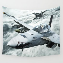 Ghost Rider this is Mustang... vector 090 for Boggie Wall Tapestry