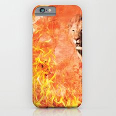 Lion Rescuing Cub from the Fire Slim Case iPhone 6s