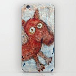 Scotty - Abstract playful fun dog iPhone Skin
