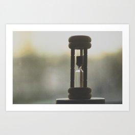 Time is inevitable  Art Print