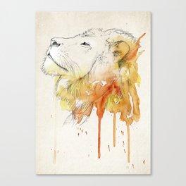 The brave Canvas Print
