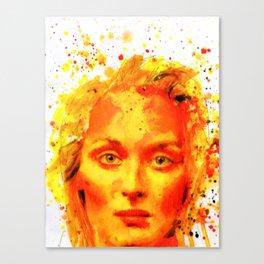 Streep Canvas Print